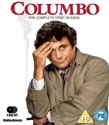 Columbo Staffel 1 (Blu-ray) (UK Import), 3 Blu-ray Discs