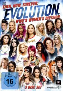 Then, Now, Forever: The Evolution Of WWE's Women's Division, 3 DVDs