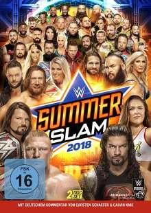 Summerslam 2018, 2 DVDs