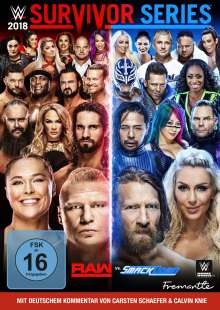 WWE - Survivor Series 2018, DVD