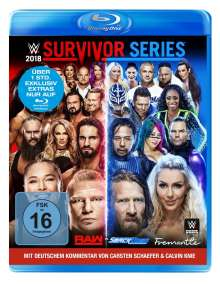 WWE - Survivor Series 2018 (Blu-ray), Blu-ray Disc
