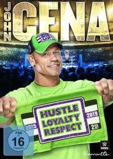 John Cena - WWE-Hustle, Loyalty, Respect, 2 DVDs