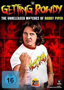 Getting Rowdy - The Unreleased Matches Of Roddy Piper, 2 DVDs