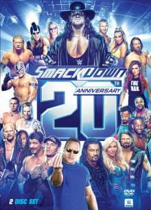 WWE: Smackdown 20th Anniversary, 2 DVDs