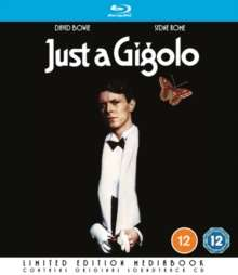 Just A Gigolo (1978) (Blu-ray in Mediabook incl. Soundtrack-CD) (UK Import), 1 Blu-ray Disc und 1 CD