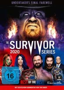 WWE: Survivor Series 2020, 2 DVDs