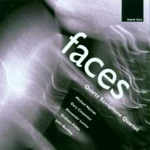 Quartz Saxophone Quartet - Faces, CD