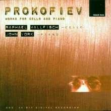 Serge Prokofieff (1891-1953): Werke für Cello & Klavier, CD