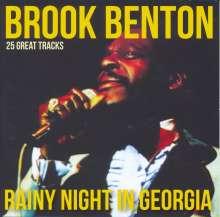 Brook Benton: 25 Great Tracks-Rainy Night in Georgia, CD