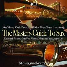 The Masters Guide To Sax, 4 CDs