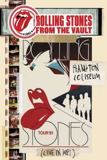 The Rolling Stones: From The Vault: Hampton Coliseum (Live In 1981), DVD