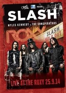 Slash: Live At The Roxy 25.9.14, DVD