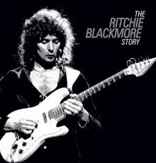 Ritchie Blackmore: The Ritchie Blackmore Story (Limited Deluxe Edition), 2 DVDs und 2 CDs