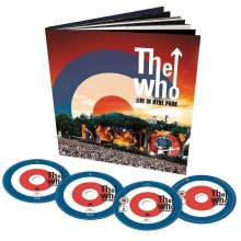 The Who: Live In Hyde Park (Limited Deluxe Edition), 1 DVD, 1 Blu-ray Disc und 2 CDs