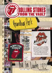The Rolling Stones: From The Vault: Live In Leeds 1982, DVD