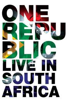 OneRepublic: Live In South Africa, DVD