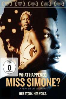 Nina Simone (1933-2003): What Happened, Miss Simone?, DVD
