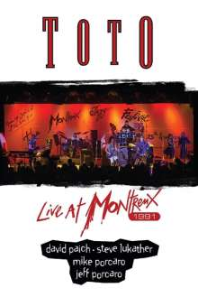 Toto: Live At Montreux 1991, DVD