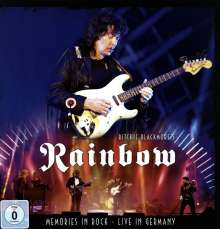 Ritchie Blackmore: Memories In Rock - Live In Germany 2016 (Deluxe-Earbook), 2 CDs, 1 DVD und 1 Blu-ray Disc