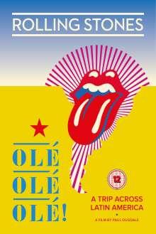 The Rolling Stones: Olé Olé Olé! A Trip Across Latin America 2016, DVD