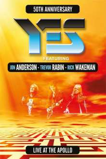 Yes: Live At The Apollo: 50th Anniversary, DVD