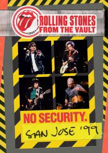 The Rolling Stones: From The Vault: No Security. San Jose '99, DVD