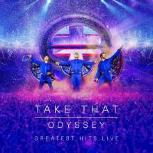 Take That: Odyssey (Greatest Hits Live) (Limited Hardcoverbook), 4 DVDs