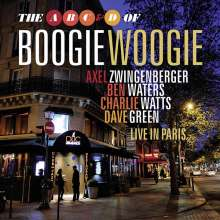 The  A, B, C & D of Boogie Woogie: Live In Paris 2010, CD