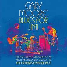 Gary Moore: Blues For Jimi: Live In London 2007, CD