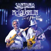 Carlos Santana & John McLaughlin: Invitation To Illumination: Live At Montreux 2011, 2 CDs