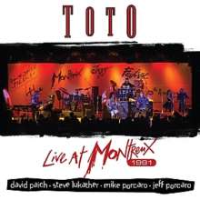 Toto: Live At Montreux 1991, CD