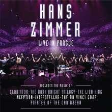 Hans Zimmer (geb. 1957): Filmmusik: Live In Prague (180g) (Limited-Edition), 4 LPs