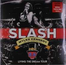 Slash: Living The Dream Tour (Limited Edition) (Red Vinyl), 3 LPs