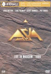 Asia: Live In Moscow 1990, DVD