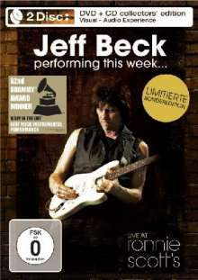 Jeff Beck: Performing This Week: Live At Ronnie Scott´s (Limited Edition) (DVD + CD), 1 DVD und 1 CD