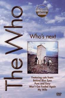 The Who: Who's Next, DVD