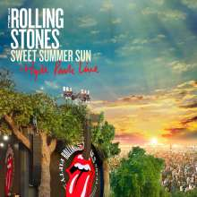 The Rolling Stones: Sweet Summer Sun - Hyde Park Live (Limited Edition) (3LP + DVD), 3 LPs und 1 DVD