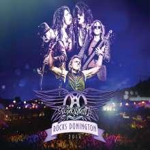 Aerosmith: Rocks Donington 2014 (180g), 3 LPs und 1 DVD