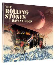 The Rolling Stones: Havana Moon (180g) (Limited-Edition), 3 LPs und 1 DVD