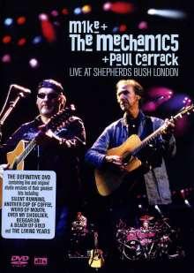 Mike & The Mechanics: Live At Shepherds Bush London 2004, DVD
