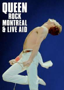 Queen: Rock Montreal & Live Aid, 2 DVDs