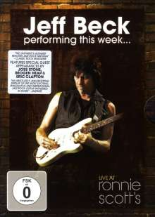 Jeff Beck: Performing This Week: Live At Ronnie Scott's Jazz Club 2007, DVD