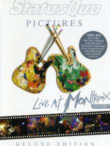 Status Quo: Pictures: Live At Montreux 2009 (Deluxe-Edition), 3 DVDs