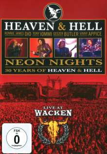 Heaven & Hell: Neon Nights - Live At.., DVD