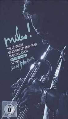 Miles Davis (1926-1991): The Definitive Miles Davis At Montreux DVD-Collection, 10 DVDs