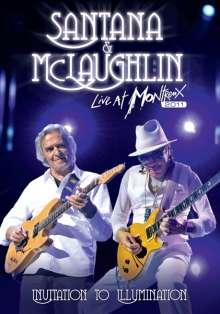 Carlos Santana & John McLaughlin: Invitation To Illumination: Live At Montreux 2011, DVD