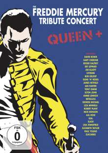 Queen: The Freddie Mercury Tribute Concert: Queen +, 3 DVDs