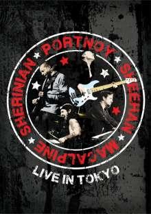 Portnoy, Sheehan, MacAlpine & Sherinian: Live In Tokyo, DVD