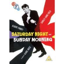Saturday Night and Sunday Morning (1960) (UK Import), DVD