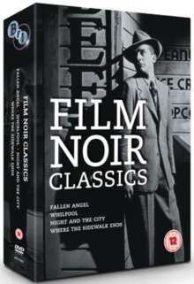 Film Noir Classics (UK Import), 4 DVDs